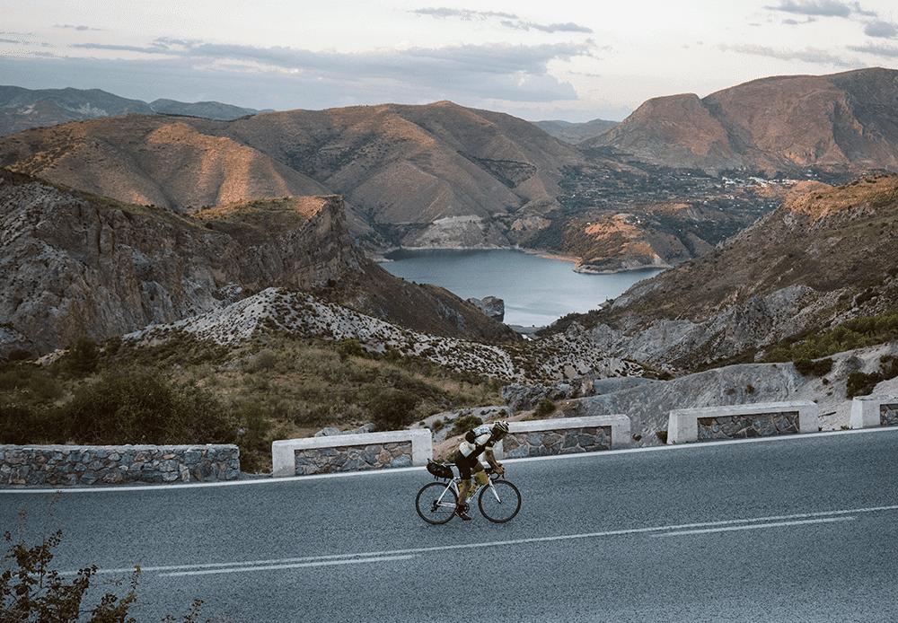 Transiberica Ultracycling 2018 Clinton Sumner Veleta Peak